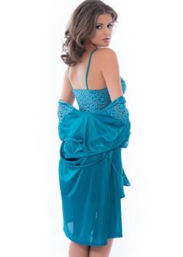 Дамски комплект нощница с халат 75