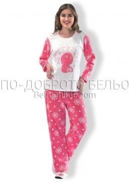 Дамска дебела пижама Dika 2599