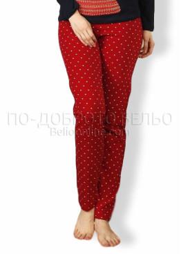 Дамска коледна пижама с мече 7551