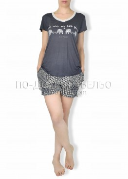 Дамска лятна пижама 6263