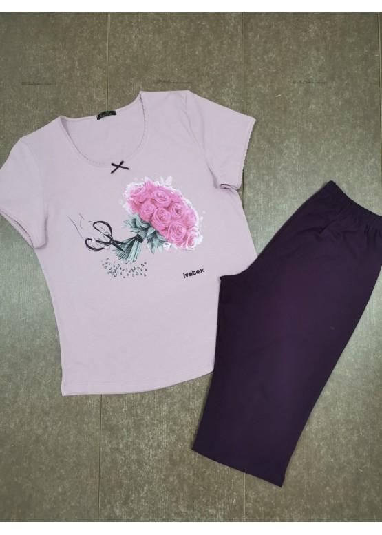 Дамска лятна пижама Иватекс 7930