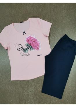 Дамска лятна пижама Иватекс 7931