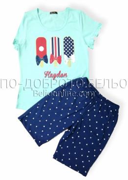 Дамска лятна пижама Иватекс 7958