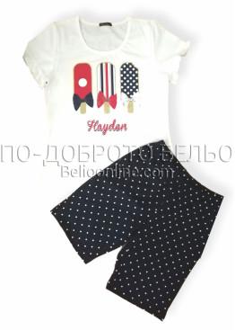 Дамска лятна пижама Иватекс 7959