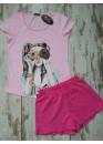 Дамска лятна пижама с къс ръкав Иватекс 7742