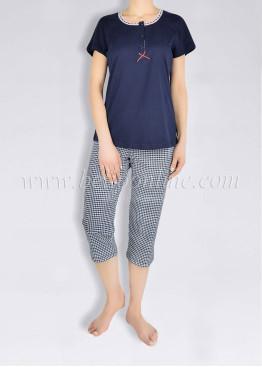 Дамска лятна пижама с копчета Иватекс 1378