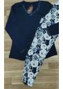 Дамска памучна пижама Иватекс 7575