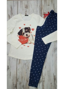 Дамска памучна пижама Иватекс 7576