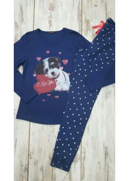 Дамска памучна пижама Иватекс 7577