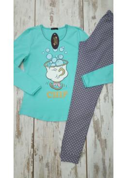 Дамска памучна пижама Иватекс 7581