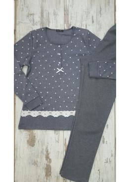 Дамска памучна пижама Иватекс 7582