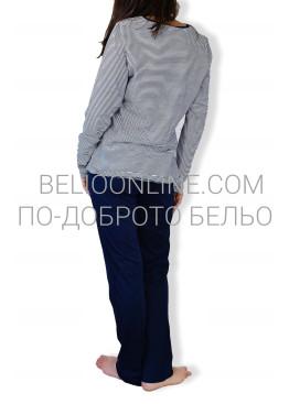 Дамска памучна пижама IvaTex  6563