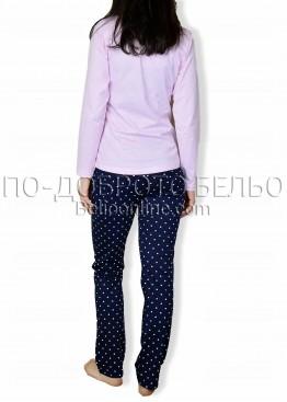 Дамска памучна пижама IvaTex 6652