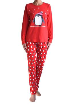 Дамска памучна пижама IvaTex 8348
