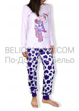 Дамска пижама  с дълъг ръкав Affect 4547
