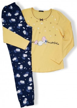 Дамска пижама Иватекс 7588