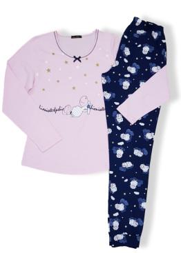 Дамска пижама Иватекс 7589