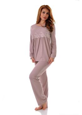 Дамска пижама от модал Десислава 6651