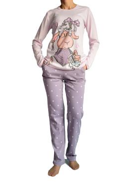 Дамска пижама  с дълъг ръкав Affect 0697