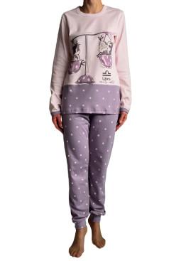 Дамска пижама  с дълъг ръкав Affect 4837