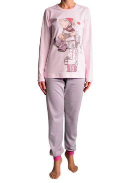 Дамска пижама  с дълъг ръкав Affect 4839