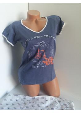 8dc0c1cbf0b Дамска пижама с потник и къси панталонки Affect 7347 | По-доброто ...