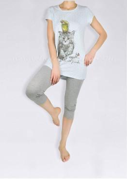 Дамска пижама с клин  Affect 1354