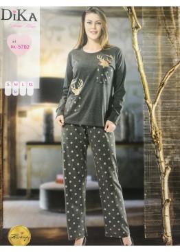 Дамска зимна пижама Dika 7428