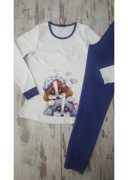 Дамска зимна пижама Иватекс 7411