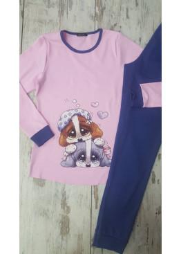 Дамска зимна пижама Иватекс 7412