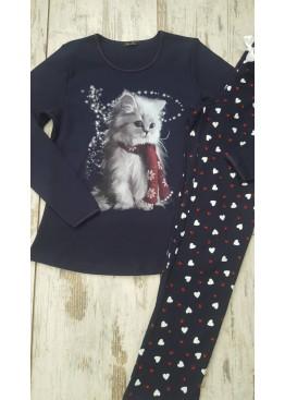 Дамска зимна пижама Иватекс 7415