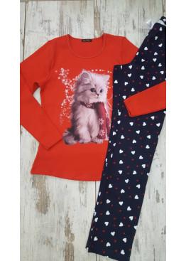 Дамска зимна пижама Иватекс 7434