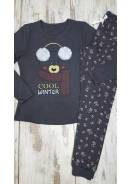 Дамска зимна пижама Иватекс 7435