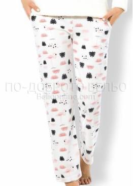 Дамска зимна пухена пижама Фламинго 7556 Welsoft
