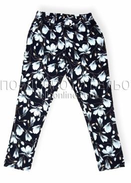Дамски дълъг панталон Иватекс 8018 на цветя