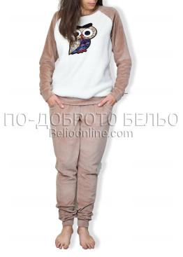 Дебела пижама Иватекс 6764