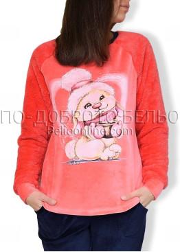 Дебела пижама от пух и полар Иватекс 6923