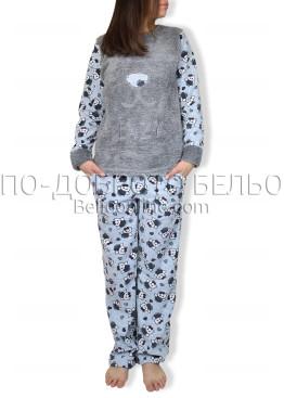 Дебела зимна пижама 6920