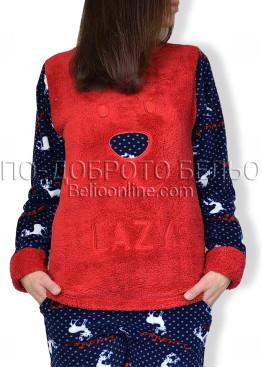 Дебела зимна пижама 6921