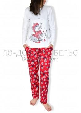 Коледна пижама 6860