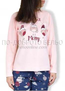 Коледна пижама 6886