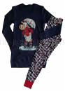 Луксозна дамска пижама с дълги ръкави туника и клин Affect 8318