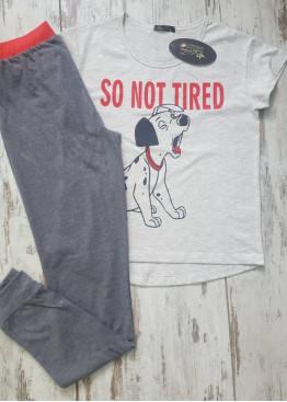 Лятна пижама с дълга долница 7117