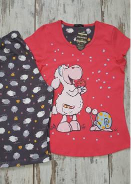 Лятна пижама с къс ръкав Иватекс 7012