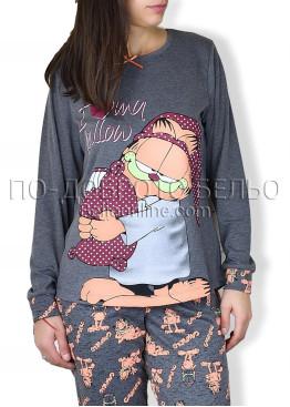 Памучна пижама IvaTex 6689