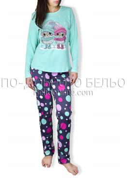 Памучна пижама IvaTex 6690