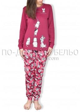 Памучна пижама IvaTex 6762