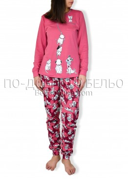 Памучна пижама IvaTex 6857