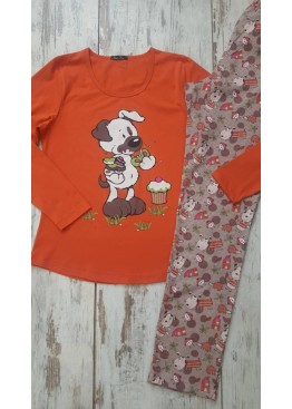 Памучна пижама IvaTex 7268