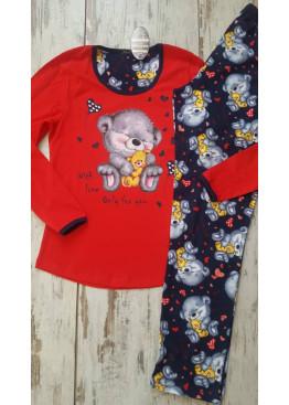 Памучна пижама Иватекс 7270